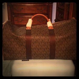 Michael kors brand new duffle bag